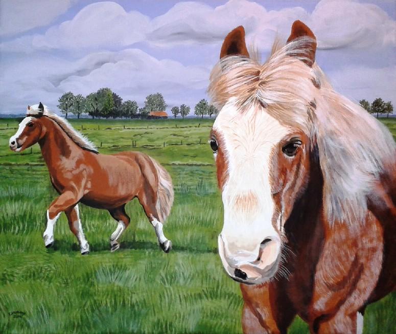 Schilderij op canvas laten maken Betuwe